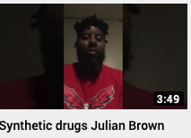 Synthetic drugs Julian Brown