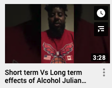 Short term vs Long term effects of Alcohol Julian Brown