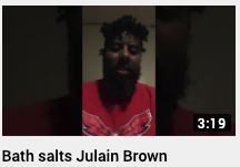 Bath salts Julian Brown