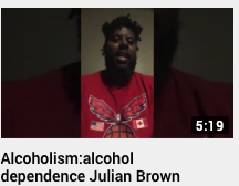 Alcoholism – alcohol dependence Julian Brown