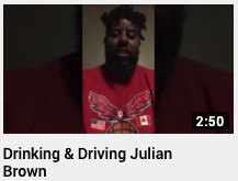 Drinking & Driving Julian Brown
